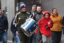 Fans arrive at the Hawthorns
