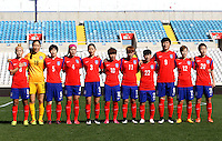 Fifa Womans World Cup Canada 2015 - Preview //<br /> Cyprus Cup 2015 Tournament ( Gsp Stadium Nicosia - Cyprus ) - <br /> South Korea vs Italy 1-2 , South Korea Team Group - From the Left :<br /> Cho Sohyun ,Kim Jungmi ,Kim Doyeon ,Shim Seoyeon ,Song Suran ,Ji Soyun ,Jung Seolbin ,Lee Sodam ,Park Eunseon ,Yoo Younga ,Kim Hyeri