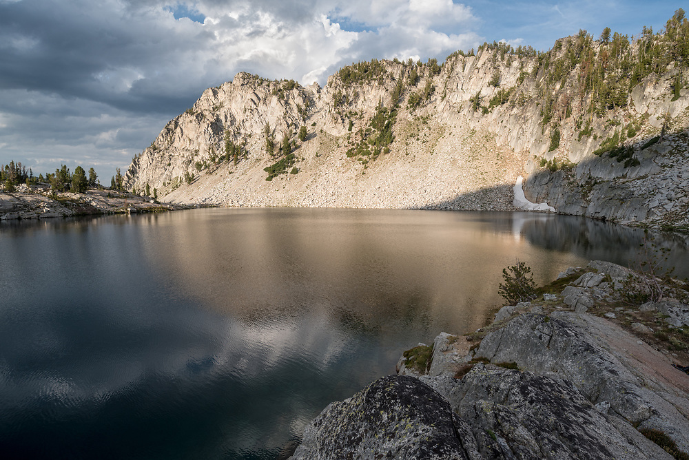 Subalpine lake in Oregon's Eagle Cap Wilderness.