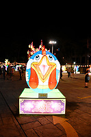 Rooster Lantern at Chinese New Year