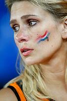 GEPA-2106085521A - BASEL,SCHWEIZ,21.JUN.08 - FUSSBALL - UEFA Europameisterschaft, EURO 2008, Niederlande vs Russland, NED vs RUS, Viertelfinale. Bild zeigt einen Niederlande-Fan. Keywords: Enttaeuschung.<br />Foto: GEPA pictures/ Andreas Pranter