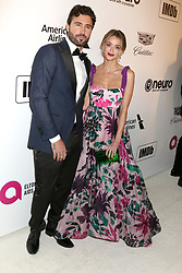 February 24, 2019 - West Hollywood, CA, USA - LOS ANGELES - FEB 24:  Brody Jenner, Kaitlynn Carter at the Elton John Oscar Viewing Party on the West Hollywood Park on February 24, 2019 in West Hollywood, CA (Credit Image: © Kay Blake/ZUMA Wire)