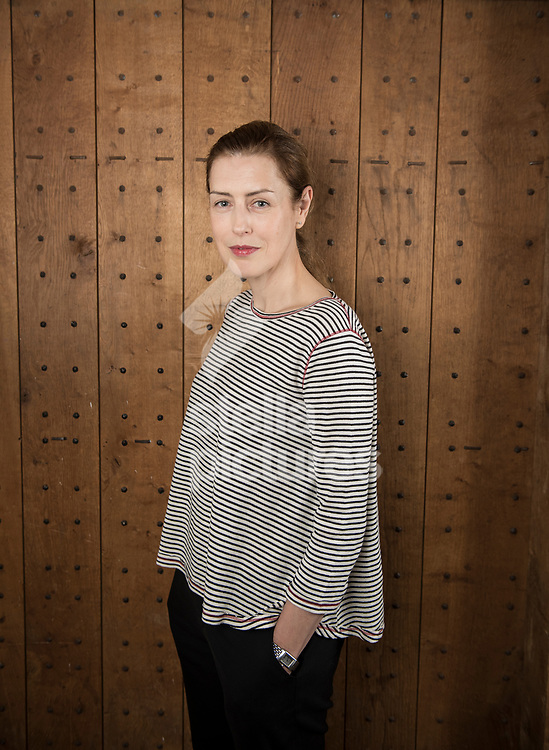 British stage and screen actress, Gina Mckee pictured at Shakespeare's Globe, Southwark<br /> Picture by Daniel Hambury/Stella Pictures Ltd 07813022858<br /> 17/08/2017