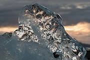 Iceberg close-up, Jökulsárlón, Iceland