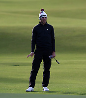 Golf - 2021 Alfred Dunhill Links Championship - Day Four - The Old Course at St Andrew's - Day Four -  Sunday 3rd October 2021<br /> <br /> Joakim Lagergren on the 18th<br /> <br /> Credit: COLORSPORT/Bruce White