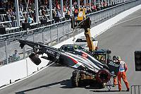 MOTORSPORT - F1 2013 - GRAND PRIX OF CANADA - MONTREAL (CAN) - 07 TO 09/06/2013 - PHOTO ERIC VARGIOLU / DPPI GUTIERREZ ESTEBAN (MEX) - SAUBER F1 C32 - ACTION