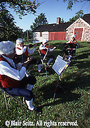 Musicians at the Daniel Boone Homestead, Berks Co., PA