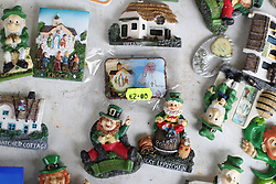 Fridge magnets on sale in Knock, Co Mayo, where Pope Francis will visit later this month.
