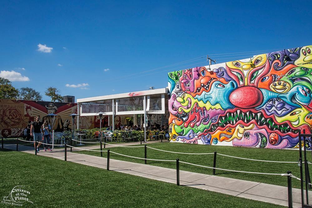 Wynwood Walls, NW 2nd Avenue, Wynwood Arts District, Miami, Florida, USA