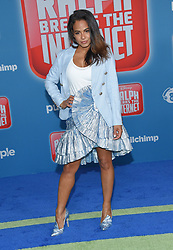 November 5, 2018 - Hollywood, California, U.S. - Christina Milian arrives for the 'Ralph Breaks the Internet' World Premiere at the El Capitan theater. (Credit Image: © Lisa O'Connor/ZUMA Wire)