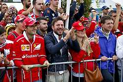 September 2, 2018 - Monza, Italy - Motorsports: FIA Formula One World Championship 2018, Grand Prix of Italy, ..Fans  (Credit Image: © Hoch Zwei via ZUMA Wire)