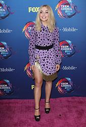 Fox Teen Choice Awards 2018. 12 Aug 2018 Pictured: Sabrina Carpenter. Photo credit: Jaxon / MEGA TheMegaAgency.com +1 888 505 6342