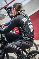2018 UCI BMX Supercross<br /> Round 7 Santiago Del Estero (Argentina)<br /> Elite Women<br /> Practice<br /> #96 (WALKER Sarah) NZL