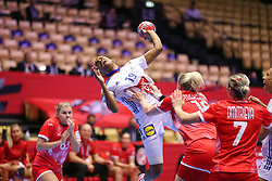 EHF Euro 2020 Main Round group I match between France and Russia in Jyske Bank Boxen, Herning, Denmark on December 11, 2020. Photo Credit: Allan Jensen/EVENTMEDIA.