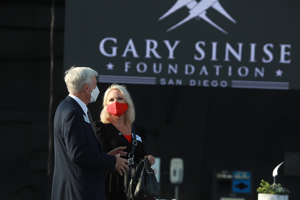 Gary Sinise Foundation San Diego chapter opening aboard the USS Midway on Wednesday, August 19, 2021 in San Diego, CA.(Photo by Sandy Huffaker/GSF)