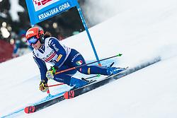 Federica Brignone (ITA) during Ladies' Giant Slalom at 57th Golden Fox event at Audi FIS Ski World Cup 2020/21, on January 17, 2021 in Podkoren, Kranjska Gora, Slovenia. Photo by Vid Ponikvar / Sportida