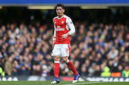 Mesut Ozil of Arsenal looking on. Premier league match, Chelsea v Arsenal at Stamford Bridge in London on Saturday 4th February 2017.<br /> pic by John Patrick Fletcher, Andrew Orchard sports photography.
