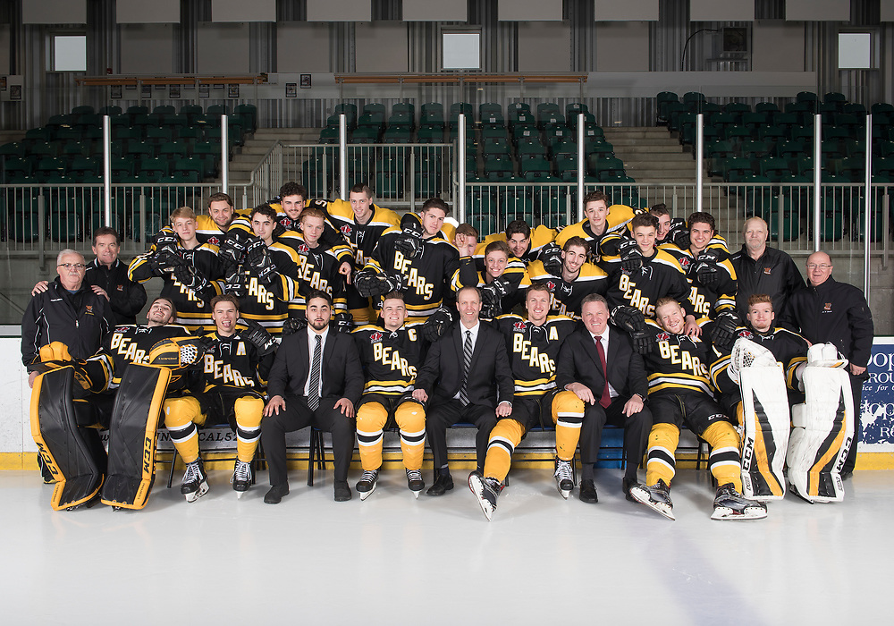 2019 Smiths Falls Bears Junior 'A' Portraits / Team Photo<br /> <br /> March 21, 2019<br /> <br /> Photo: Steve Kingsman