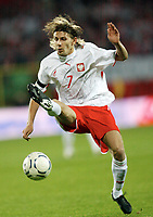 Fotball<br /> Polen<br /> Foto: Wrofoto/Digitalsport<br /> NORWAY ONLY<br /> <br /> 13.10.2007<br /> Ebi Smolarek (POL)