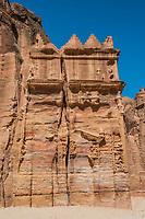 tomb in Nabatean Petra Jordan middle east