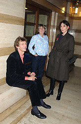 Left to right, MATTHEW CARR, CATHERINE HESKETH and the MARCHIONESS OF NORMANBY at a quiz night in aid of RAPt ( The Rehabilitation for Addicted Prisoners Trust) held at Hammersmith Town Hall, King Street, London W6 on 14th November 2005.<br /><br />NON EXCLUSIVE - WORLD RIGHTS