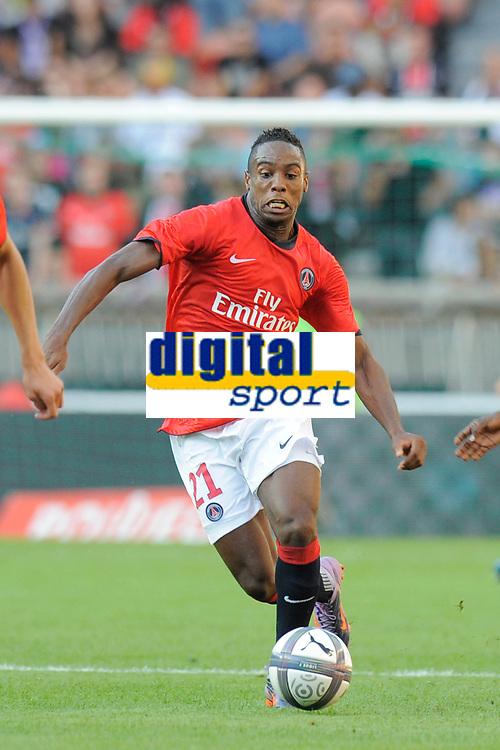 FOOTBALL - UEFA EUROPA LEAGUE 2010/2011 - PLAY OFF - 1ST LEG - PARIS SG v MACCABI TEL AVIV - 19/08/2010 - PHOTO JEAN MARIE HERVIO / DPPI - JEAN EUDES MAURICE (PSG)