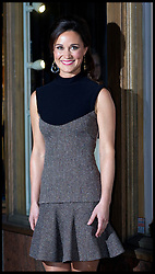 The Duchess of Cambridge's sister Pippa Middleton arrives for her book launch 'Celebrate' at Daunt books in Fulham, Thursday October 25, 2012 Photo Andrew Parsons / i-Images..