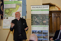 Pictured: Sir Tom Hunter<br /> Finance Secretary Derek Mackay headed to Winchburgh today to meet developers of new 3,450-home village. As well as the new homes, schools and other associated infrastructure will be built at Winchburgh. Derek Mackay met Sir Tom Hunter and Local MSP, Fiona Hyslop, the developers and West Lothian Council officials.<br /> <br /> Ger Harley   EEm 17 January 2019