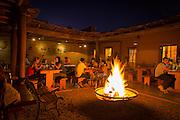 Adobe restaurant, San Pedro de Atacama, Atacama Desert, Chile, South America