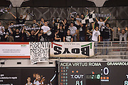 DESCRIZIONE : Roma Lega serie A 2013/14  Acea Virtus Roma Virtus Granarolo Bologna<br /> GIOCATORE : tifosi bologna<br /> CATEGORIA : tifosi pubblico<br /> SQUADRA : Virtus Granarolo Bologna<br /> EVENTO : Campionato Lega Serie A 2013-2014<br /> GARA : Acea Virtus Roma Virtus Granarolo Bologna<br /> DATA : 17/11/2013<br /> SPORT : Pallacanestro<br /> AUTORE : Agenzia Ciamillo-Castoria/GiulioCiamillo<br /> Galleria : Lega Seria A 2013-2014<br /> Fotonotizia : Roma  Lega serie A 2013/14 Acea Virtus Roma Virtus Granarolo Bologna<br /> Predefinita :