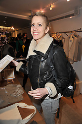LADY CANDIDA BALFOUR at the launch party for Club Monaco at Browns, 32 South Molton Street, London on 16th February 2011.