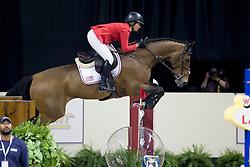 Madden Beezie, USA, Simon<br /> World Cup Final Jumping - Las Vegas 2015<br /> © Hippo Foto - Dirk Caremans<br /> 19/04/2015