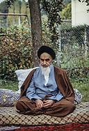 France - France 11/10/1978 the ayatolah Khomeyni in Neauphles le chateau