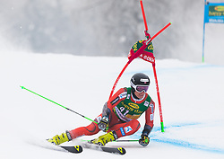 Marcus Monsen of Norway during 1st run of Men's Giant Slalom race of FIS Alpine Ski World Cup 57th Vitranc Cup 2018, on 3.3.2018 in Podkoren, Kranjska gora, Slovenia. Photo by Urban Meglič / Sportida