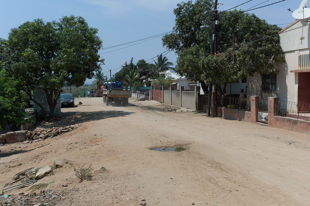 Tete City, Tete Province of Mozambique.  Tete is currently booming due to its large coal ressources explored mostly by foreign companies like Vale or Riversdale/Rio Tinto.