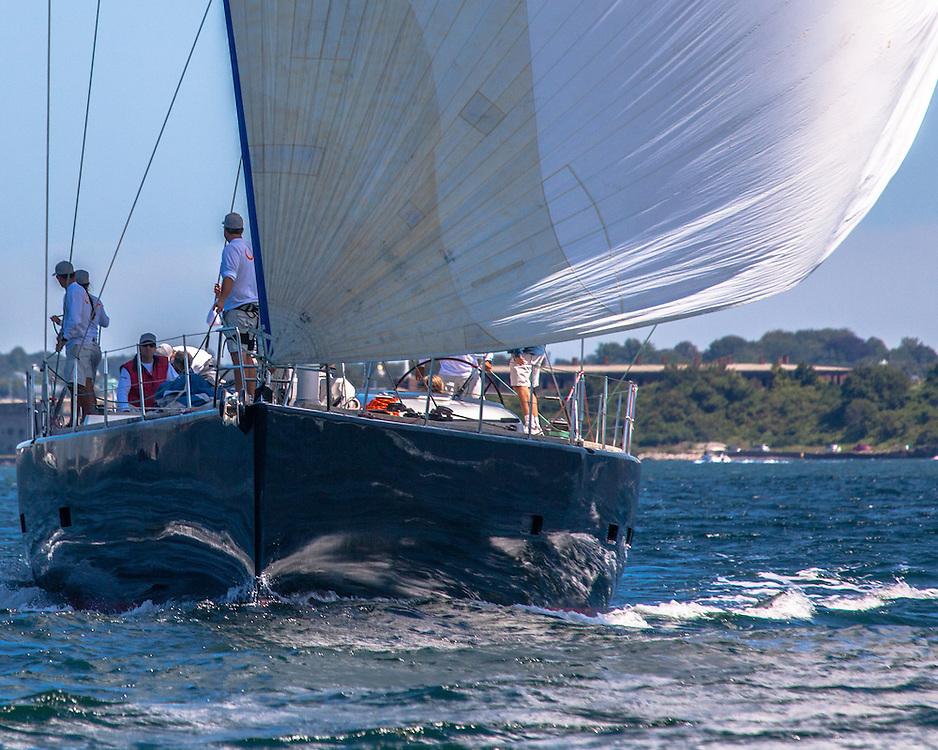 Sailing in the 2013 Newport Bucket