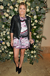 OLIVIA COX at a private view of the Beulah Winter Autumn Winter collection entitled 'Chrysalis' held at The South Kensington Club, London SW7 on 24th September 2015.