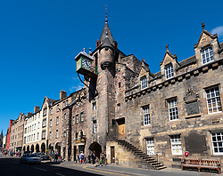 The Tollbooth at Canongate on the Royal Mile in Edinburgh Old Town, Scotland, UK
