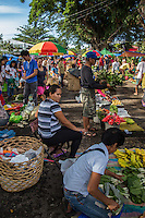 Valencia Sunday Market takes place at the plaza in this small, pleasant town in Negros Oriental. Thanks to its cooler hill climate, Valencia grows many kinds of plants, flowers, vegetables and fruits.  Since agriculture is the town's main industry, apart from geothermal energy, Valencia supplies most of the fruit and veg found in the Dumaguete and surrounding areas.