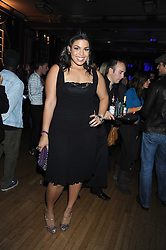 Singer JORDIN SPARKS winner of the sixth season of American Idol at the launch of Nokia's 'Comes With Music' held at the Bloomsbury Ballroom, 37-63 Bloomsbury Square, London WC1 on 21st October 2008.