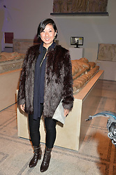 BEATRIX ONG at a private view of Alexander McQueen's Savage Beauty exhibition hosted by Samsung BlueHouse at the V&A, London on 30th March 2015.