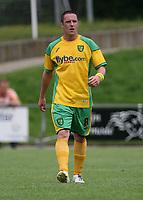 Photo: Maarten Straetemans.<br /> AGOVV Apeldoorn v Norwich City. Pre Season Friendly. 21/07/2007.<br /> Mark Fotheringham