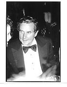 Jim Robinson. An evening with Alan Jay Lerner. Oct 1989. © Copyright Photograph by Dafydd Jones 66 Stockwell Park Rd. London SW9 0DA Tel 020 7733 0108 www.dafjones.com