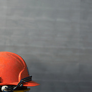 Abstract view of construction hat