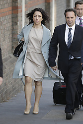 © Licensed to London News Pictures. 06/06/2016. Croydon, UK. Former Chelsea FC team doctor EVA CARNEIRO  arrives at Croydon Employment Tribunal with her husband JASON DE CARTERET. Carneiro is claiming constructive dismissal against Chelsea football club when Jose Mourinho was manager. Photo credit: Peter Macdiarmid/LNP