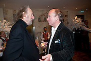 ED VICTOR; DAVID CAMPBELL, Book launch party for the paperback of Nicky Haslam's book 'Sheer Opulence', at The Westbury Hotel. London. 21 April 2010