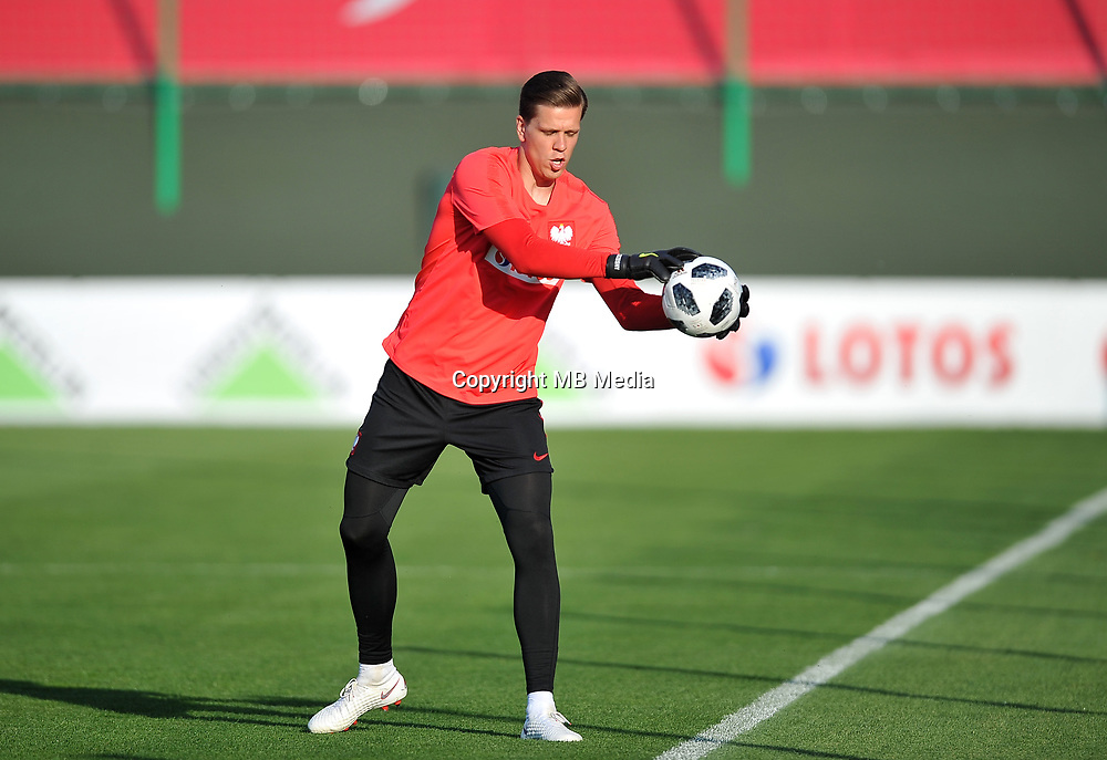 ARLAMOW, POLAND - MAY 31: Wojciech Szczesny during a training session of the Polish national team at Arlamow Hotel during the second phase of preparation for the 2018 FIFA World Cup Russia on May 31, 2018 in Arlamow, Poland. (MB Media)