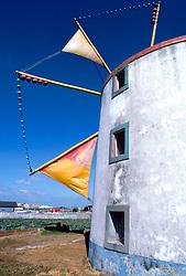 Windmill at Torres Vedre, Peniche, Portugal