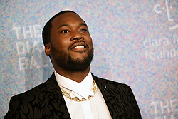 September 13, 2018 - New York, NY, USA - September 13, 2018  New York City..Meek Mill  attending the 4th Annual Clara Lionel Foundation Diamond Ball on September 13, 2018 in New York City. (Credit Image: © Kristin Callahan/Ace Pictures via ZUMA Press)