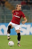 Roma 23/9/2004 Campionato Italiano Serie A 2004/2005 <br /> <br /> Roma Lecce 2-2 <br /> <br /> Philippe Mexes Roma<br /> <br /> Foto Andrea Staccioli Graffiti